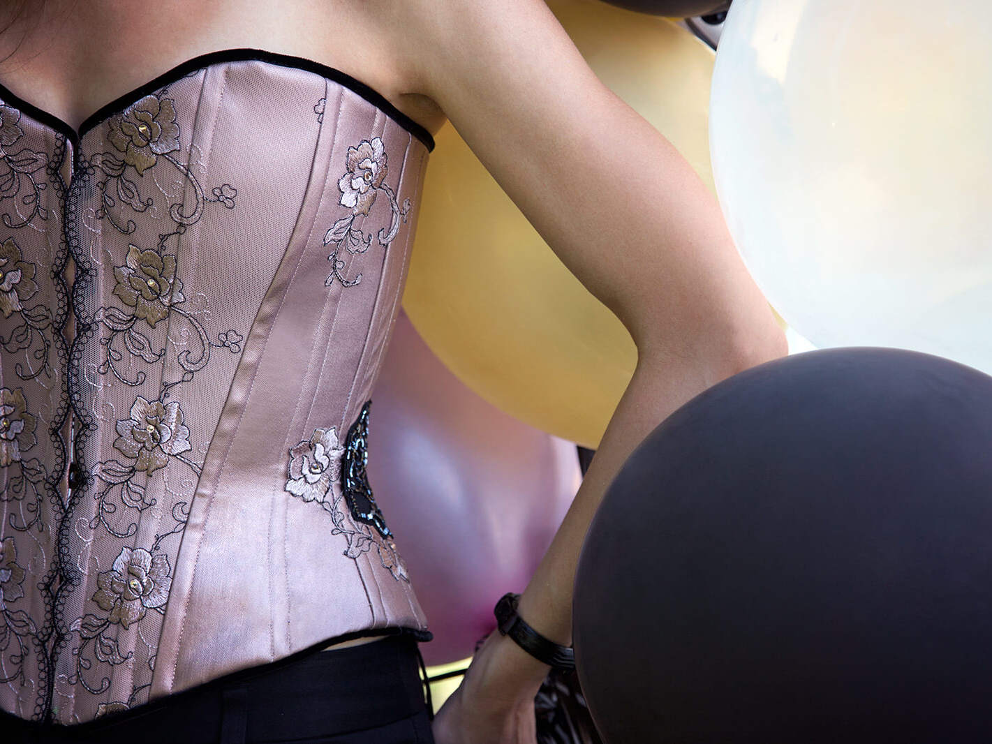 Happy Blogiversary Champagne Corsets!