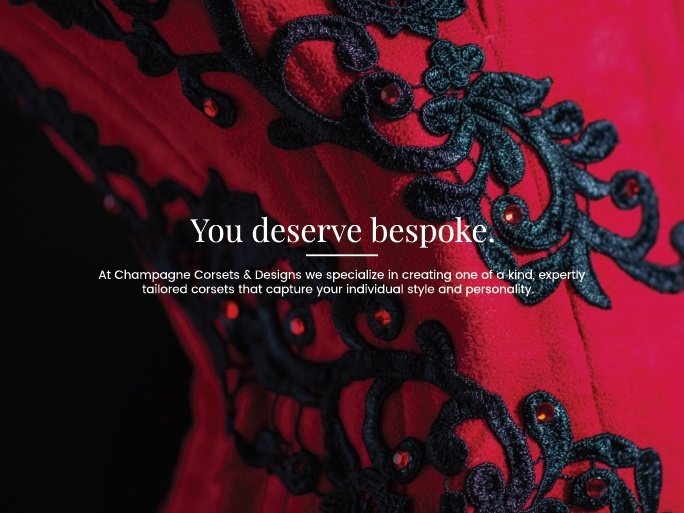 You deserve bespoke