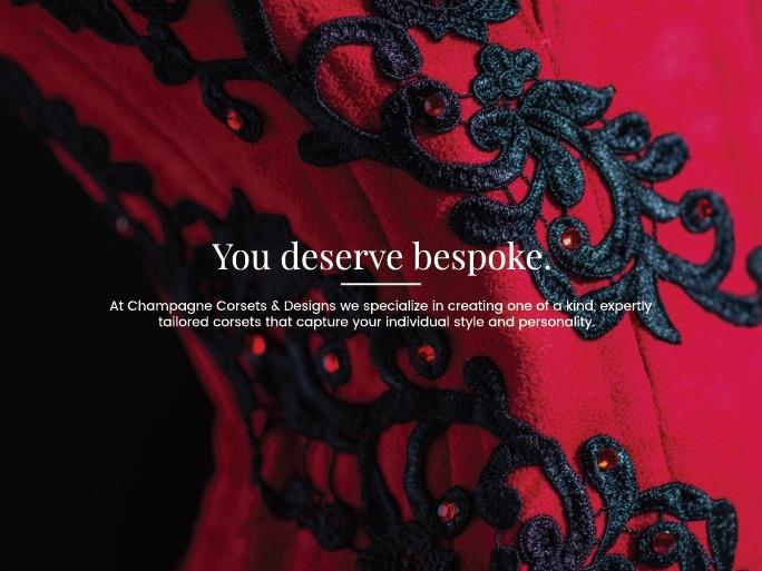 You deserve bespoke